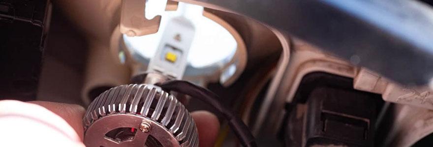 Ampoules LED de voiture